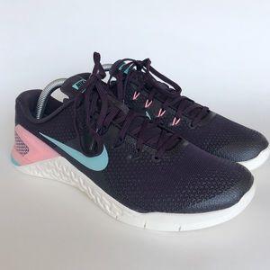 🆕 NWOT Nike Metcon 4 Cross Training Shoes 9.5